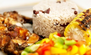 Blue Mountain Yard: Jamaican Meal, Side and Drink Each for Up to Four at Blue Mountain Yard (Up to 42% Off)