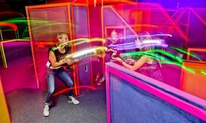 Bowling Room Mainz: 3x 15 Min. Laser-Tag-Spiel inkl. Ausrüstung für 1, 2, 4 oder 6 Personen im Bowling Room Mainz (bis zu 41% sparen*)
