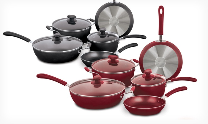 Ecolution 8-Piece Nonstick Cookware Set: $79.99 for an Ecolution Nonstick Cookware Set ($199.99 List Price). Four Colors Available. Free Shipping and Returns.
