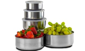 Stainless Steel Bowls Set (10-Piece) at Stainless Steel Bowls Set (10-Piece), plus 6.0% Cash Back from Ebates.