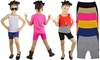 Girls' Seamless Shorts (6-Pack)