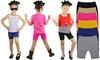 Girls' Seamless Shorts (6-Pack): Girls' Seamless Shorts (6-Pack)