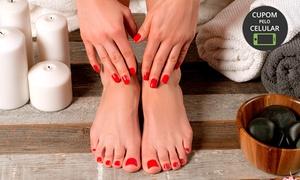 Esmalteria Naty's Nails: Esmalteria Naty's Nails – Santo André: 1 ou 2 meses de manicure e pedicure