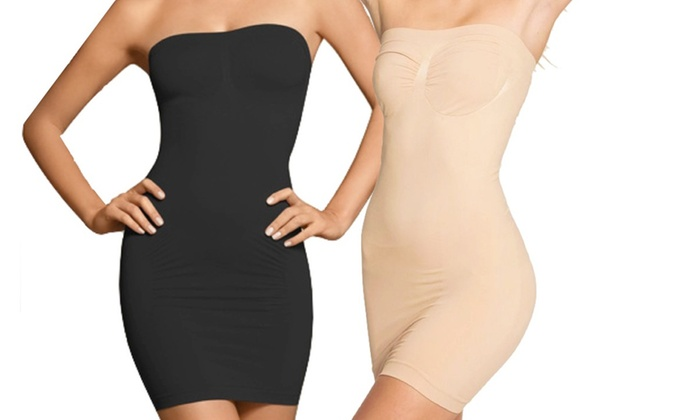 Seamless Strap-Free Body Slimmer (2-Pack)