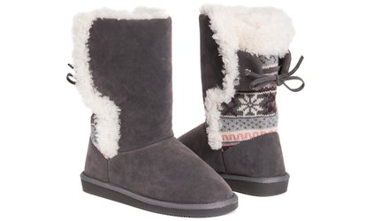 Image Placeholder For MUK LUKS Missy Boots