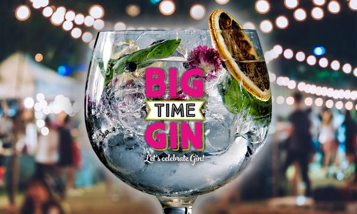 Big Time Gin Festivals: Big Time Gin Festival on 30 September at Runway Visitors Park (Up to 50% Off)