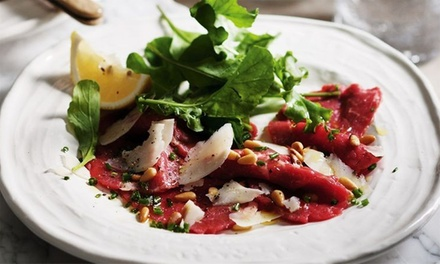 TwoCourse Italian Dinner with Wine or Beer $29 or 4 People $58 at Zerozero Up to $166 Value