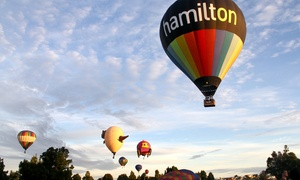 Kiwi Balloon Company: Hot Air Balloon Experience for One ($359) or Two People ($699) with Kiwi Balloon Company, Hamilton