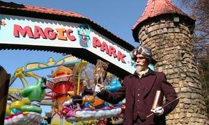 Magic Park Verden: Jahreskarte (1 Person) o. Tageskarte (2 Personen) optional mit 2 Kindern für den Magic Park Verden (bis zu 47% sparen*)