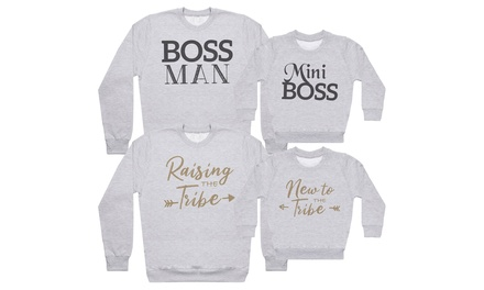 Dad and Baby Sweater Gift Set
