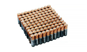 100 Ct. Duracell AA or AAA Batteries at 100 Ct. Duracell AA or AAA Batteries, plus 9.0% Cash Back from Ebates.