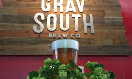 Brewery Package for Two, Four, or Six at Grav South Brew Co (Up to 45% Off)