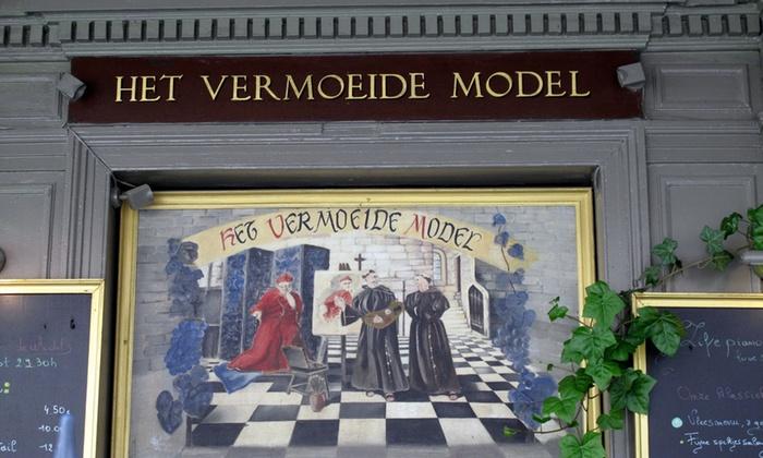 """Het Vermoeide Model - Antwerpen: Menu de dégustation à 6 services à partir de € 24,99 chez """"Het Vermoeide Model"""""""