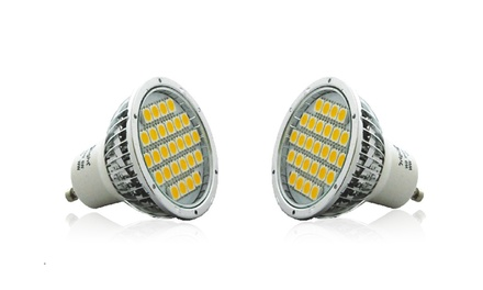 Up to 10 GU10 4W Warm White LED Spotlight Bulbs from £2.29
