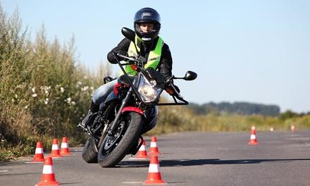 Permis moto A2 boite manuelle avec ou sans passage du code à 399 €chez Cap Conduite Marseille