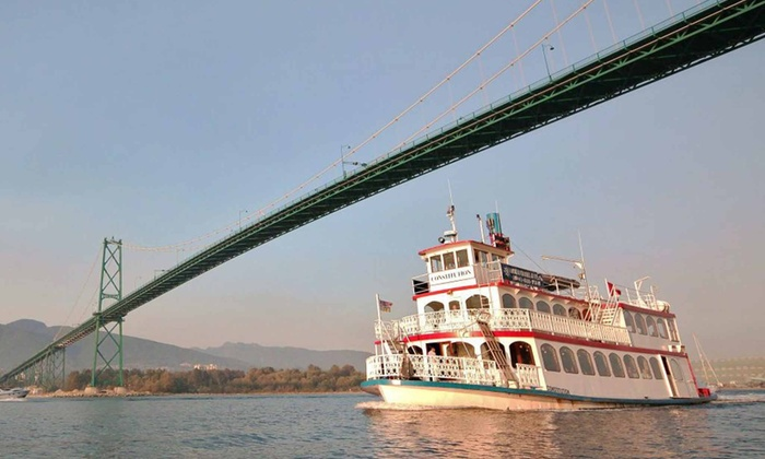 Harbour Cruises & Events - Vancouver: Vancouver Harbor Tour for Two or Four Adults from Harbour Cruises & Events (Up to 54% Off)