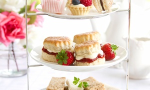 AM:PM Bohemian Restaurant: Afternoon Tea with an Optional Glass of Prosecco for Two or Four at AM:PM Bohemian Restaurant (Up to 44% Off)