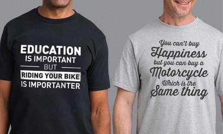 Herren-T-Shirt mit Aufdruck in der Farbe nach Wahl