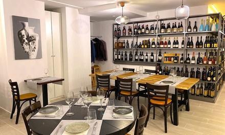 Menú para 2 o 4 con entrante, principal, postre a compartir y bebida en Di Vini Sapori (hasta 59% de descuento)