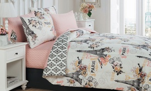 Cherie Bed-in-a-Bag Set (8-Piece) at Cherie Bed-in-a-Bag Set (8-Piece), plus 6.0% Cash Back from Ebates.
