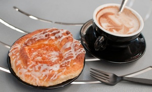 DR Ugs Drugstore Cafe: One Bagel or Pastry with Purchase of Any Specialty Coffee Drink at DR Ugs Drugstore Cafe