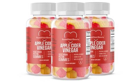 Apple Cider Vinegar Weight Loss Gummies (1-, 2-, or 3-Pack)