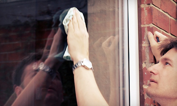 Lawn Runners Window Washing - Birdland Neighbors: Window Washing for Up to 20 or Up to 40 Windows from Lawn Runners (Up to 60% Off)