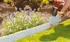 Cobbled Stone Garden Edging