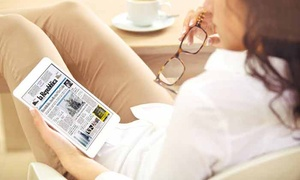 """Abbonamento Digitale La Repubblica: 3 mesi di abbonamento a """"La Repubblica"""" in versione digitale, compatibile con tutti i dispositivi (sconto 84%)"""