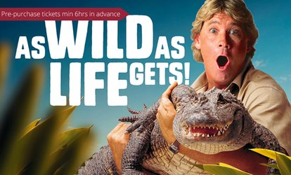 Steve Irwin's Australia Zoo: 1-Day or 2-Day Child, Adult or Pensioner Tickets with Bonus Discounts (Up to $91 Value)