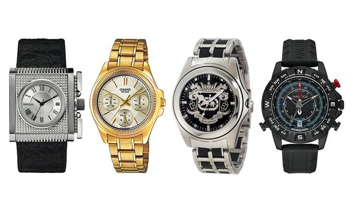 Mix di orologi di diversi marchi groupon goods