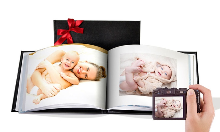 Printerpix: Custom Leather Cover Photo Books from Printerpix