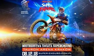 SuperEnduro 2018: Od 69 zł: bilet na Mistrzostwa Świata SuperEnduro 2018 w TAURON Arenie Kraków (do -30%)