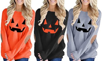 Leo Rosi Women's Halloween Lightweight Top. Plus Sizes Available.