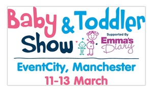 Baby and Toddler Show North West: Baby and Toddler Show North West, 11-13 March (Up to 42% Off)