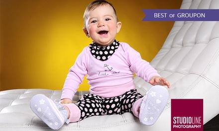 90 Min. Baby-Fotoshooting inkl. Make-up u. Bildern als Datei u. Abzug bei STUDIOLINE PHOTOGRAPHY (bis zu 73% sparen*)