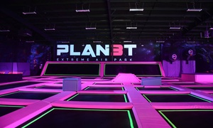 Up to 46% Off Passes or Party at Planet 3 Extreme Air Park at Planet 3 Extreme Air Park, plus 6.0% Cash Back from Ebates.