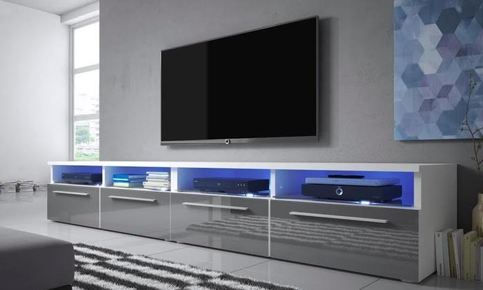 Tv-meubel met led-verlichting | Groupon Goods