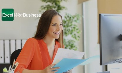 image for Online Microsoft Office Course Bundle for One or Ten Users from Excel With Business (Up to 90% Off)