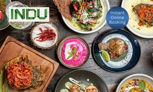 INDU: $99 Indu Feast with Wine for Two People, or $119 to Include Lamb Raan at INDU (Up to $190 Value)