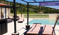 Languedoc : 1 à 2 nuits avec spa et dégustation de vin, dîner et modelage en option au Château de Valloubière pour 2 p.