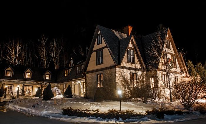 19th-Century Mansion amid White Mountains