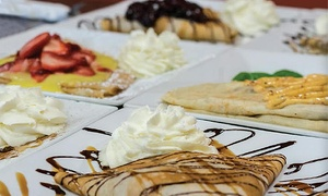 Sweet and Savory Crepes for Two or Four at Marokena Crepe & Cafe (Up to 48% Off)
