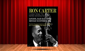 RON CARTER Golden Striker Trio With Russell Malone & Donald Vega/ London/ 31st October 2016: Ron Carter Golden Striker Trio at Rah Rah Room, Piccadilly on 31 October