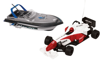 Mini Race Car or Speedboat from £9.98
