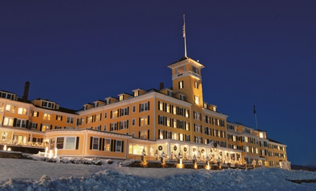 Stay at Mountain View Grand Resort & Spa in Whitefield, NH. Dates into May. photo