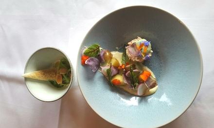 Gastronomisch 4gangen lunchmenu van de chef bij Michelinsterrestaurant Lucas Rive in Hoorn