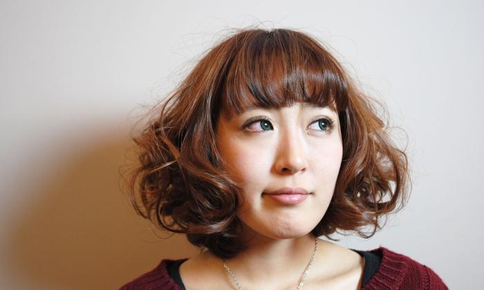 Ruhe hair design - Ruhe: 【最大63%OFF】実力派カット。クセ・パサつき・ダメージがある髪もキレイにまとまる≪カット+(カラーorパーマ)+トリートメント/他1メニュー≫ @Ruhe hair design