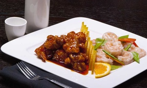 Wasabi Bistro Asian Cuisine: $25 or $50 towards Dinner for Two or Four at Wasabi Bistro Asian Cuisine