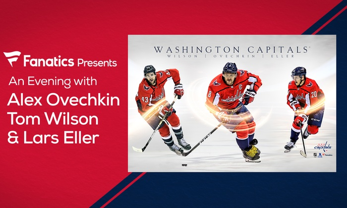 Up to 38% Off An Evening w  Hockey Star Alex Ovechkin and More 9c15f27d552